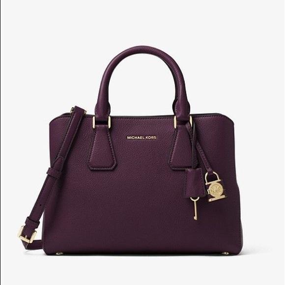 871780180867 Michael Kors Camille Leather Satchel. M 5c6c5d77baebf68fe0cb8802. Other Bags  ...